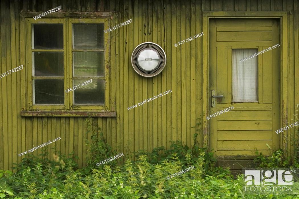 Stock Photo: Outdoors, Wooden.