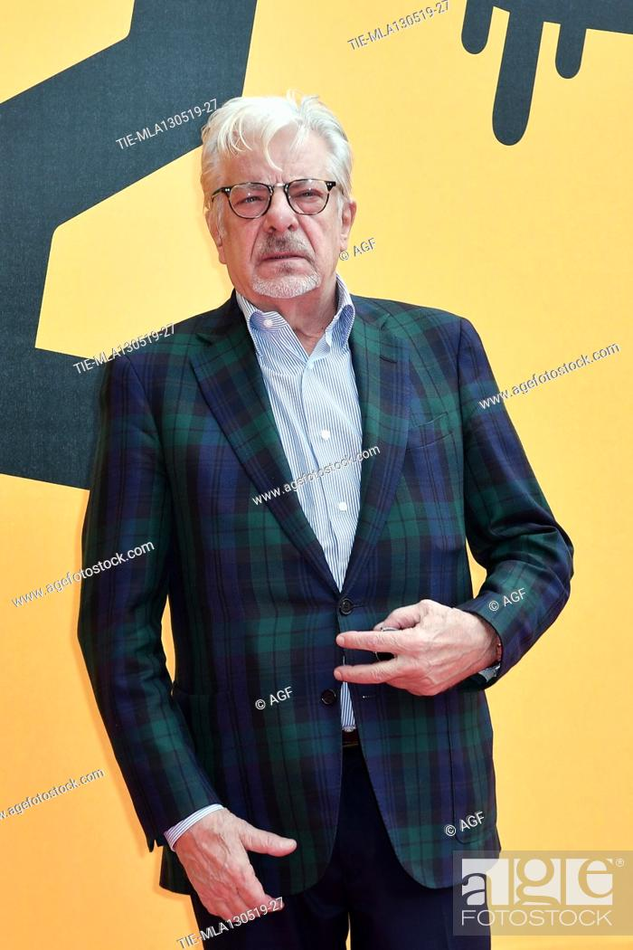 Stock Photo: Giancarlo Giannini during 'Catch-22' TV show photocall, Rome, Italy - 13 May 2019.