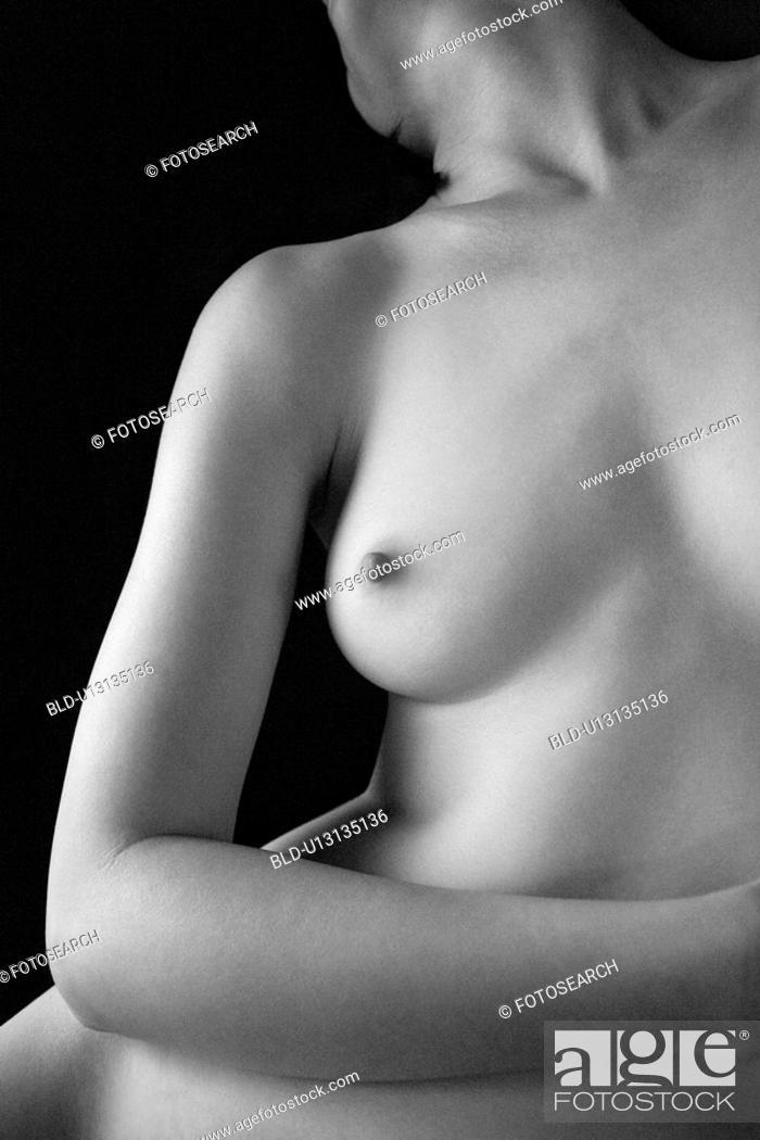 Stock Photo: Nude woman.