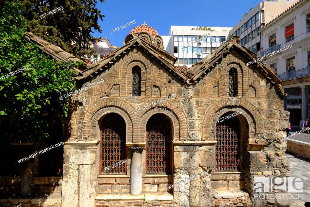 Imagen: Church of the Assumption of the Virgin Mary, Athens, Greece, Europe.