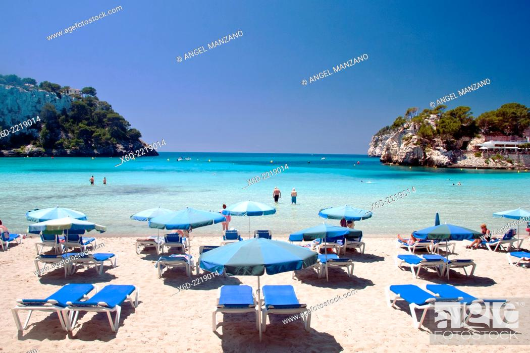 Stock Photo: Cala Galdana beach, Menorcar.