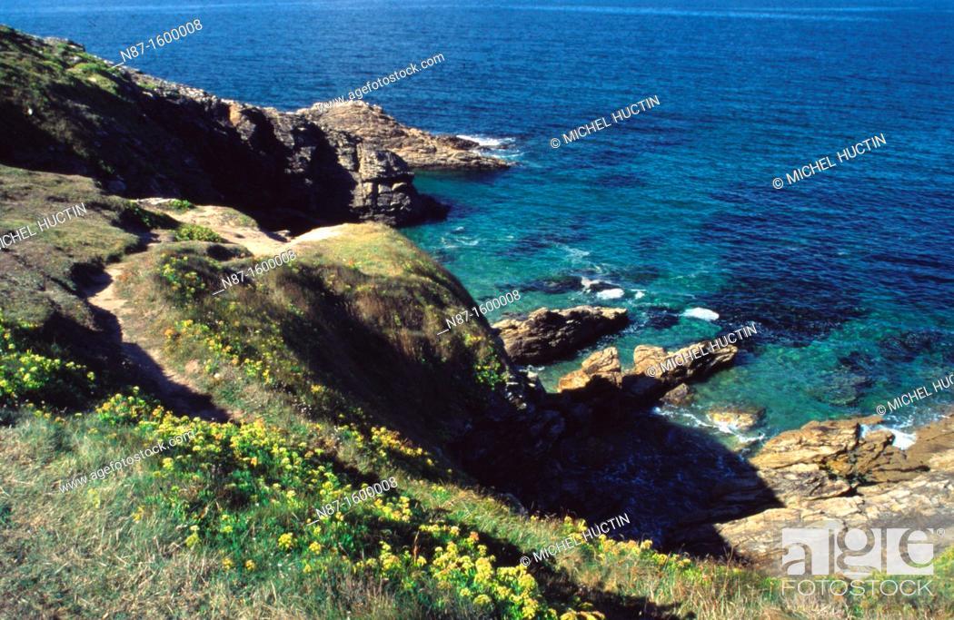 Stock Photo: Britain, Quiberon peninsula.