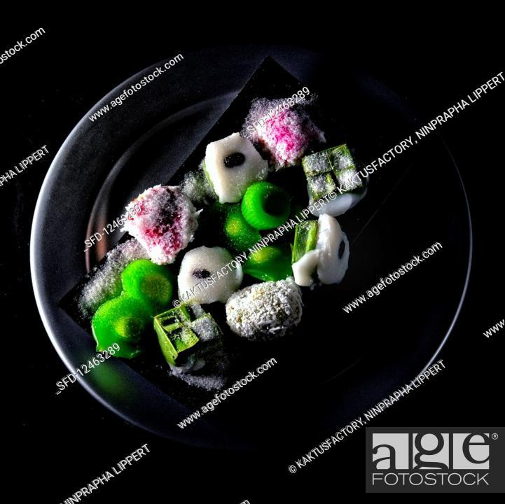 Stock Photo: Thai sweets.