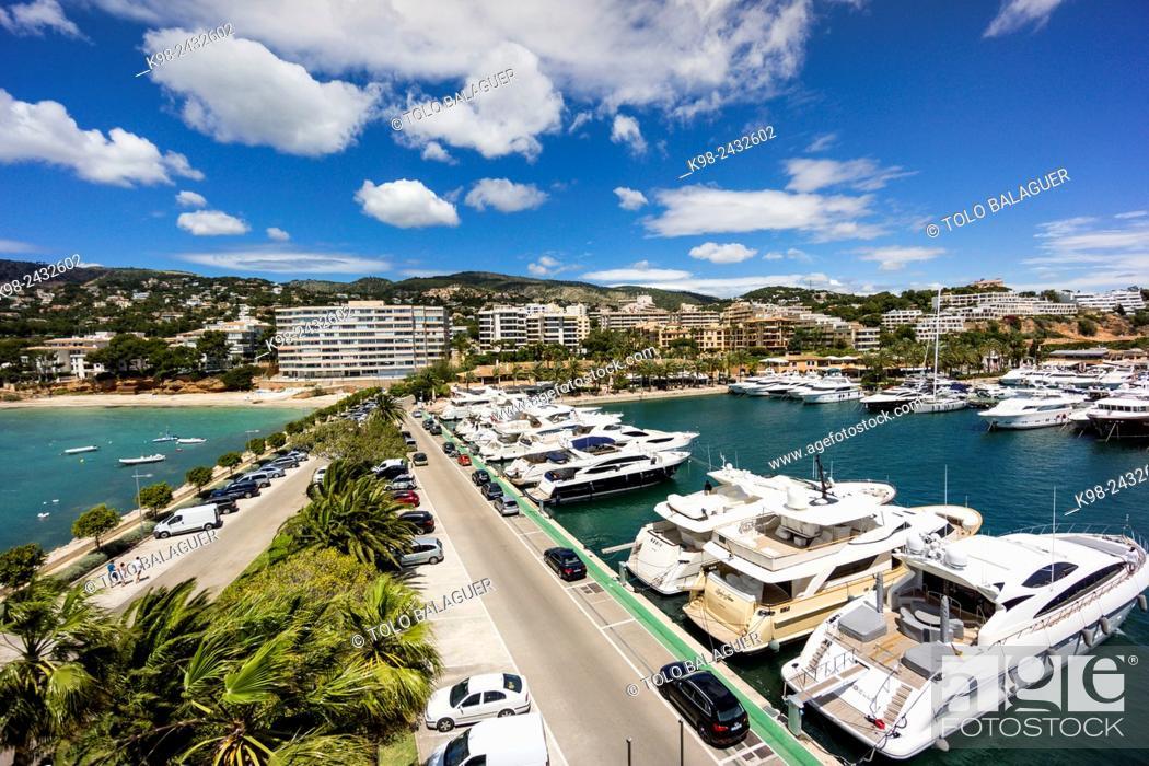 Stock Photo: Puerto Portals, Calvia, Majorca, Balearic Islands, Spain.