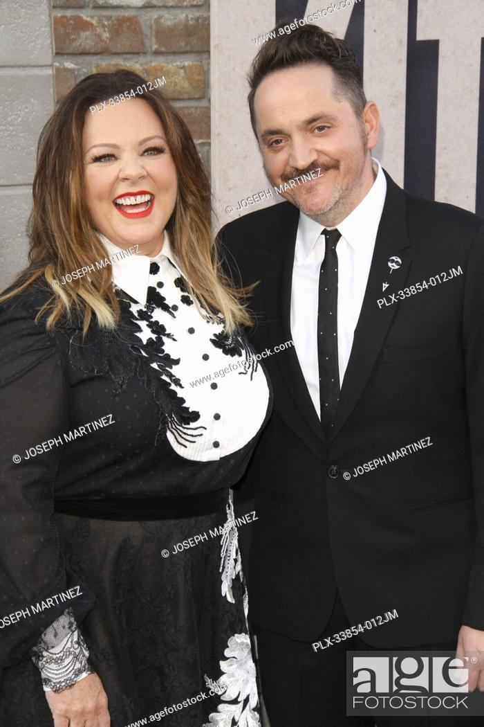 "Stock Photo: Melissa McCarthy, Ben Falcone at Warner Bros. Pictures' """"The Kitchen"""" Premiere held at the TCL Chinese Theatre, Los Angeles, CA, August 5, 2019."