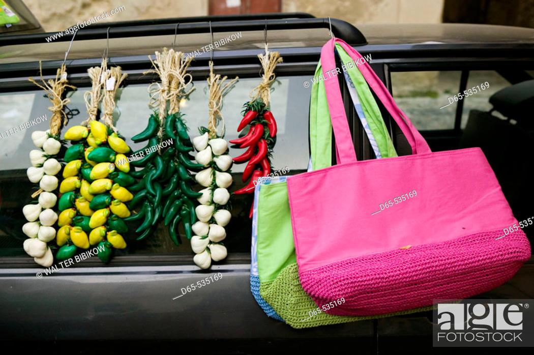 Stock Photo: Local Craft Market, Tropea. Calabria, Italy.