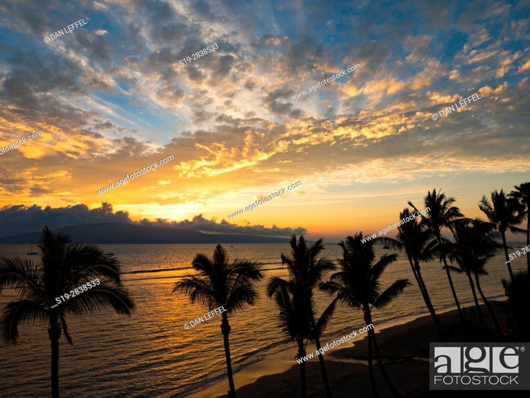 Stock Photo: Maui Sunset.