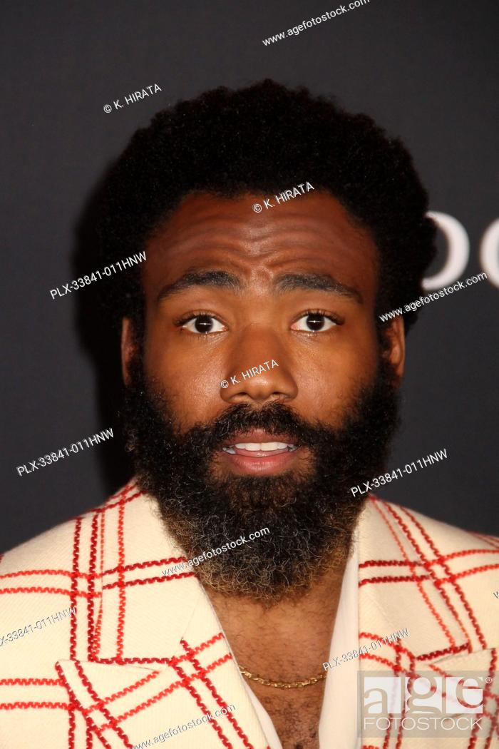 """Stock Photo: Donald Glover 07/09/2019 """"""""The Lion King"""""""" Premiere held at the Dolby Theatre in Hollywood, CA. Photo by: K. Hirata / HNW/ PictureLux."""