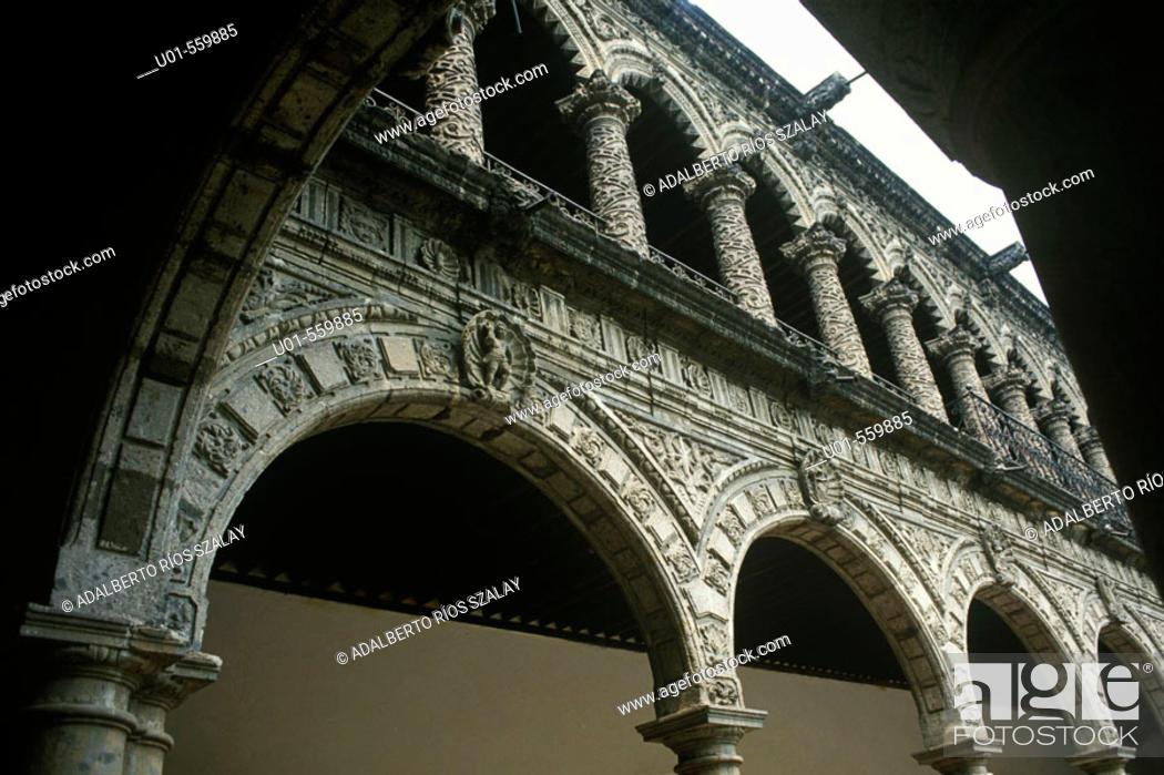Stock Photo: La Merced Convent in Mexico City.