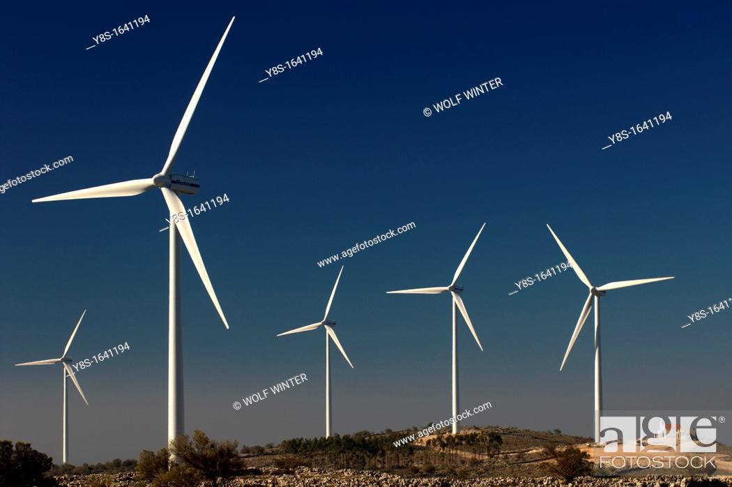 Stock Photo: Wind Farm.