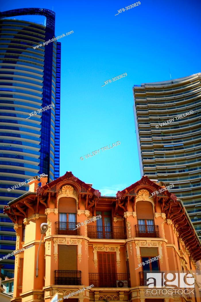 Stock Photo: Larvotto, Monte Carlo, Principality of Monaco.