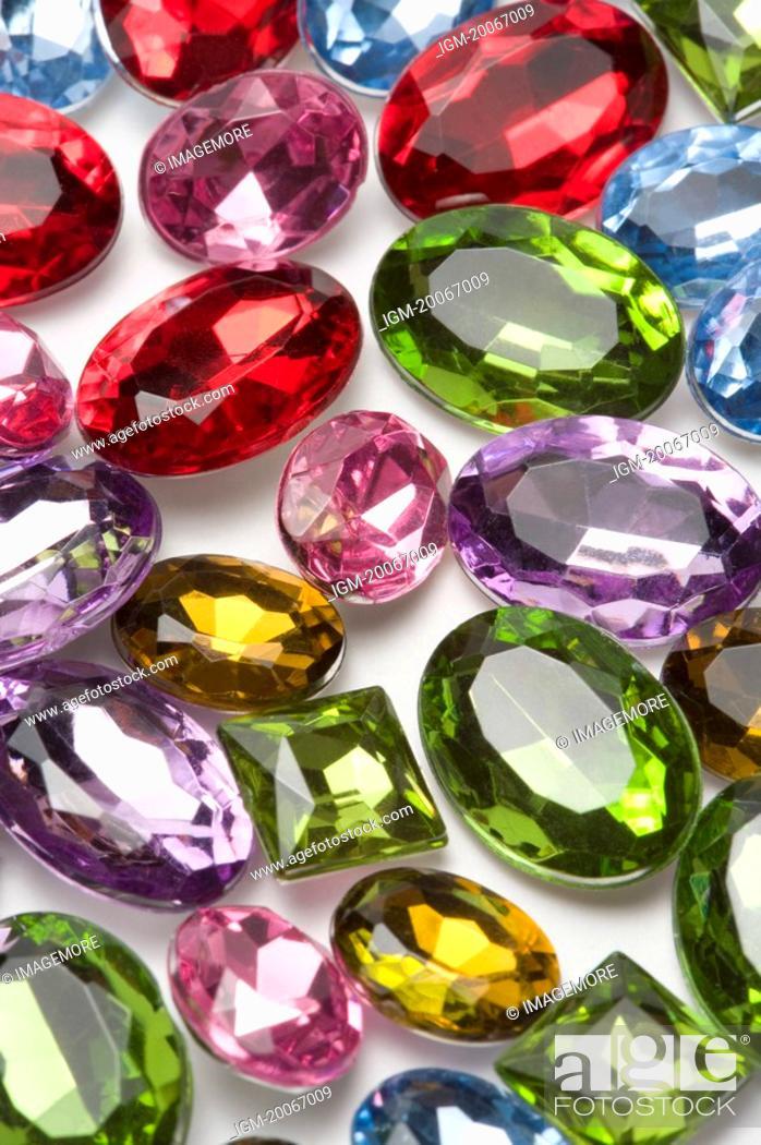 Stock Photo: Gems.