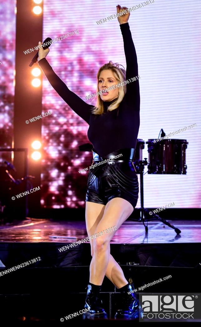 Stock Photo: Ellie Goulding performs live in Cardiff on her Dilirium Tour Featuring: Ellie Goulding Where: Cardiff, United Kingdom When: 08 Mar 2016 Credit: WENN.