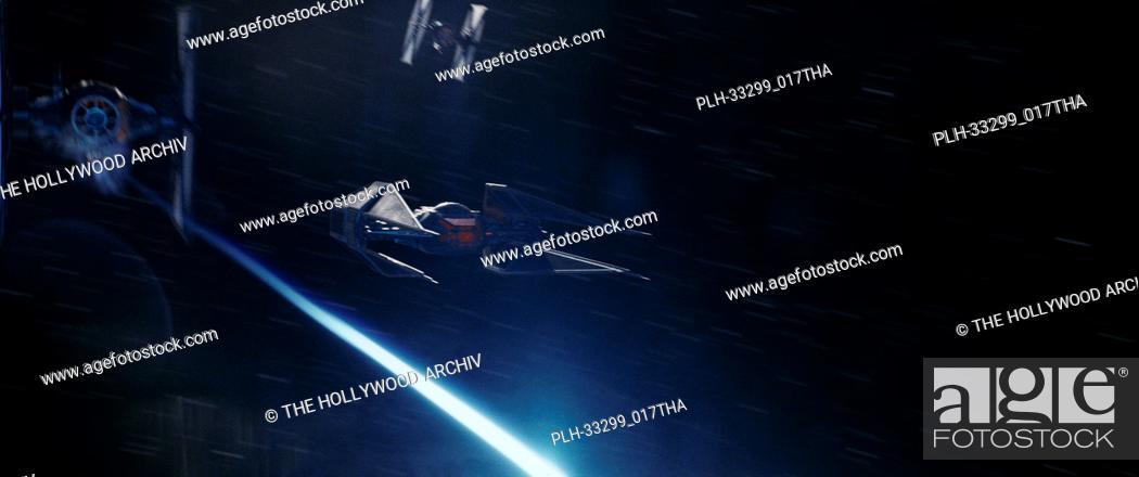 "Stock Photo: Kylo Ren's TIE Silence""""Star Wars: The Last Jedi"""" (2017) Lucasfilm Ltd."