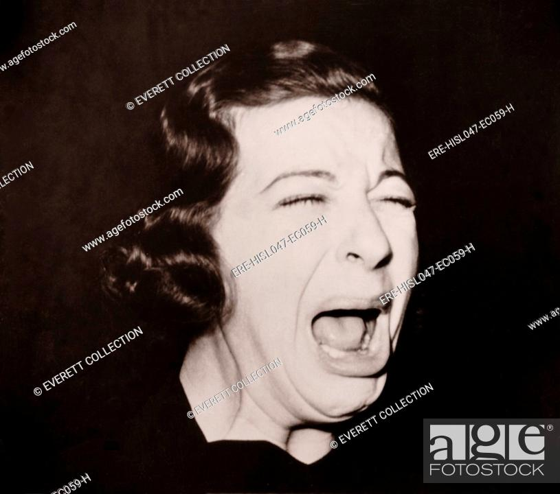 Comic actress Fanny Brice performed in a very popular radio
