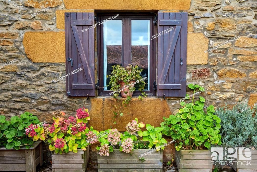 Stock Photo: Aya, Gipuzkoa province, Basque Country, Spain, Europe.