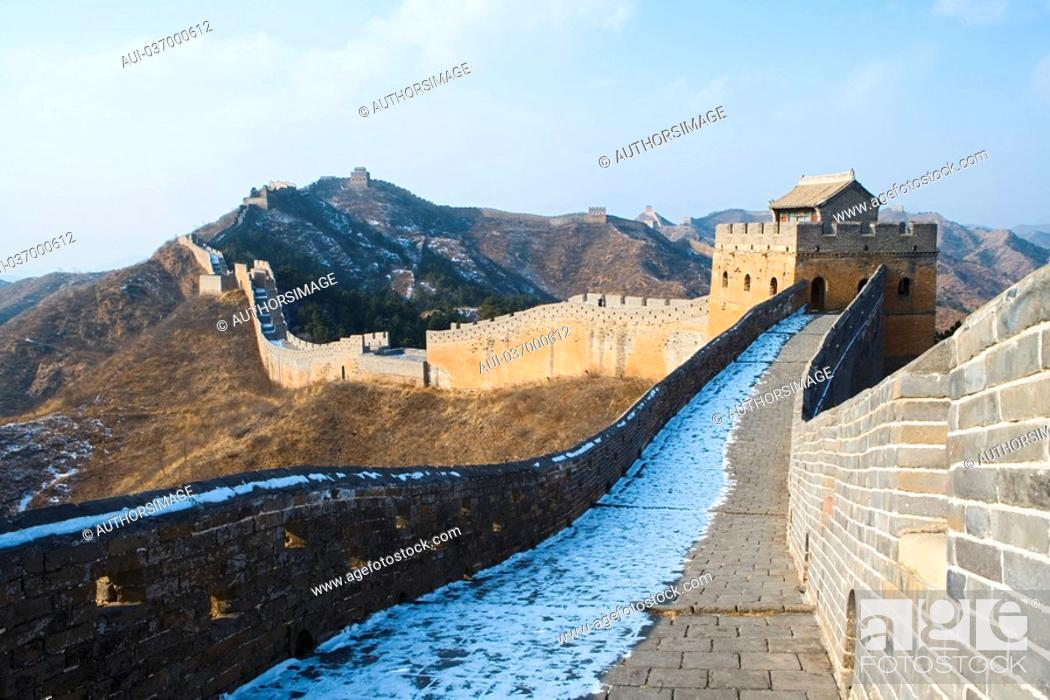 Stock Photo: China - Beijing PÚkin - Surroundings - The Great Wall of China - Jingshanling.