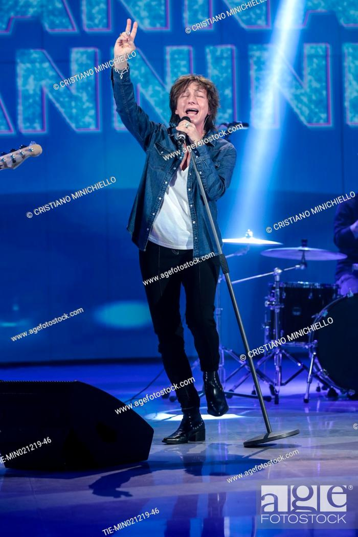 Stock Photo: Italian singer Gianna Nannini during the tv show Domenica in, Rome, ITALY-01-12-2019.