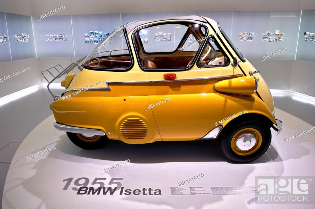 Bmw Museum Bmw Isetta Bubble Car From 1955 57 Munich