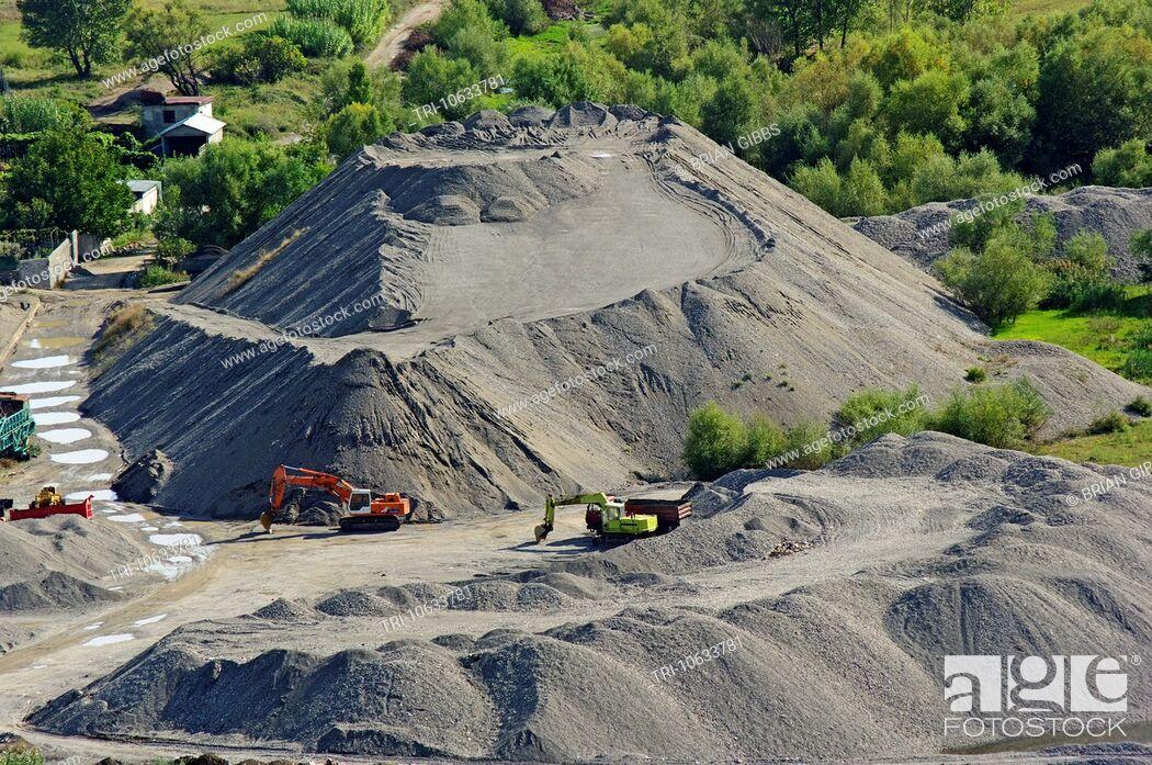 Imagen: Quarry By River Buna Buna Delter Near Shkodra Albania.