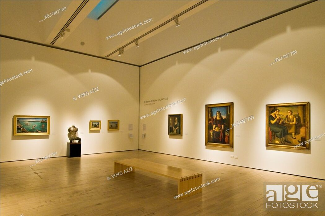 Stock Photo: Mart, Museum of Modern Art, Rovereto, Trento province, Italy.