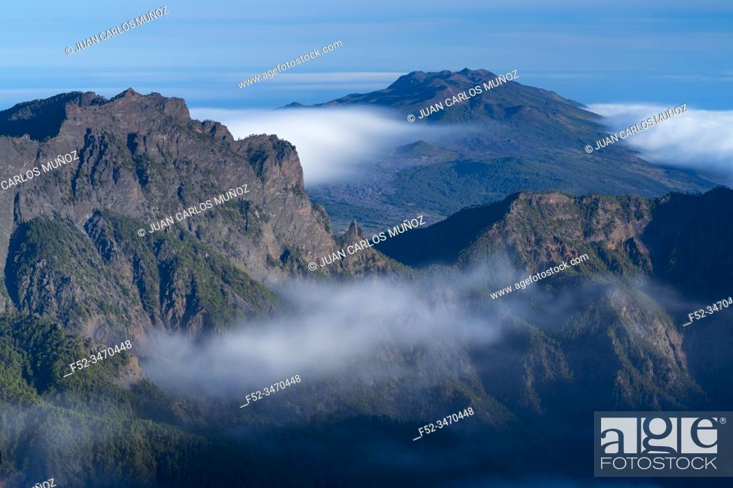 Imagen: Caldera de Taburiente National Park, La Palma island, Canary Islands, Spain, Europe, Unesco Biosphere Reserve.