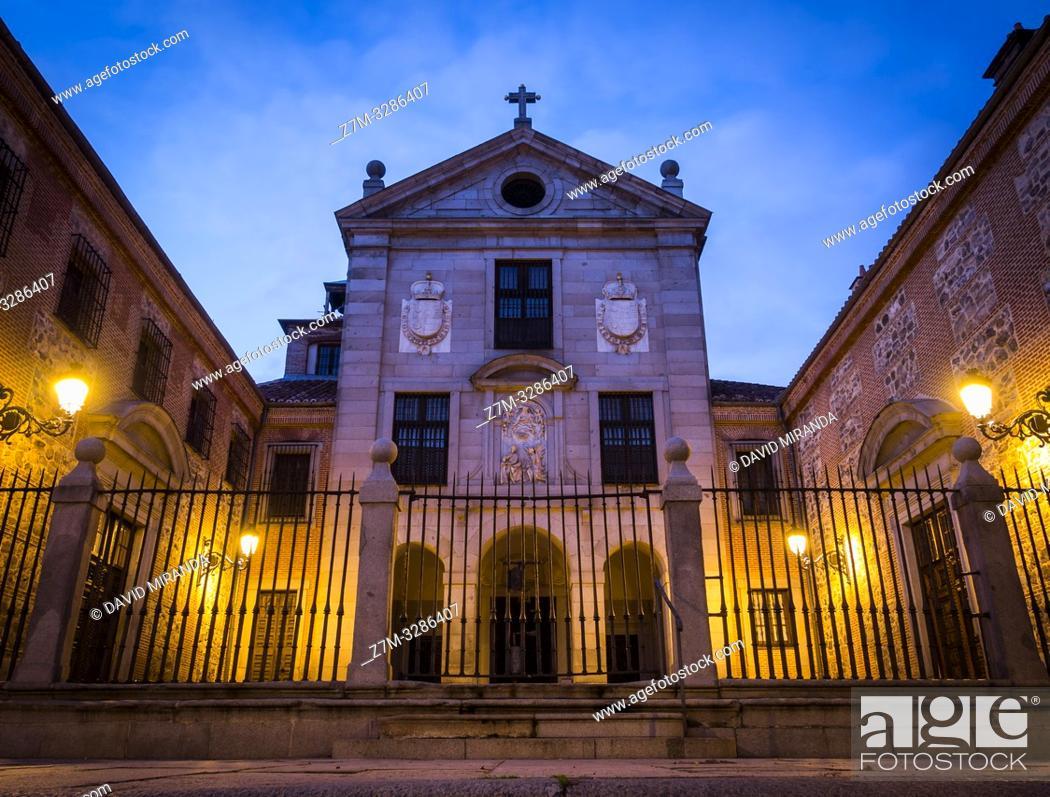 Stock Photo: Monasterio de la Encarnación. Madrid. España.