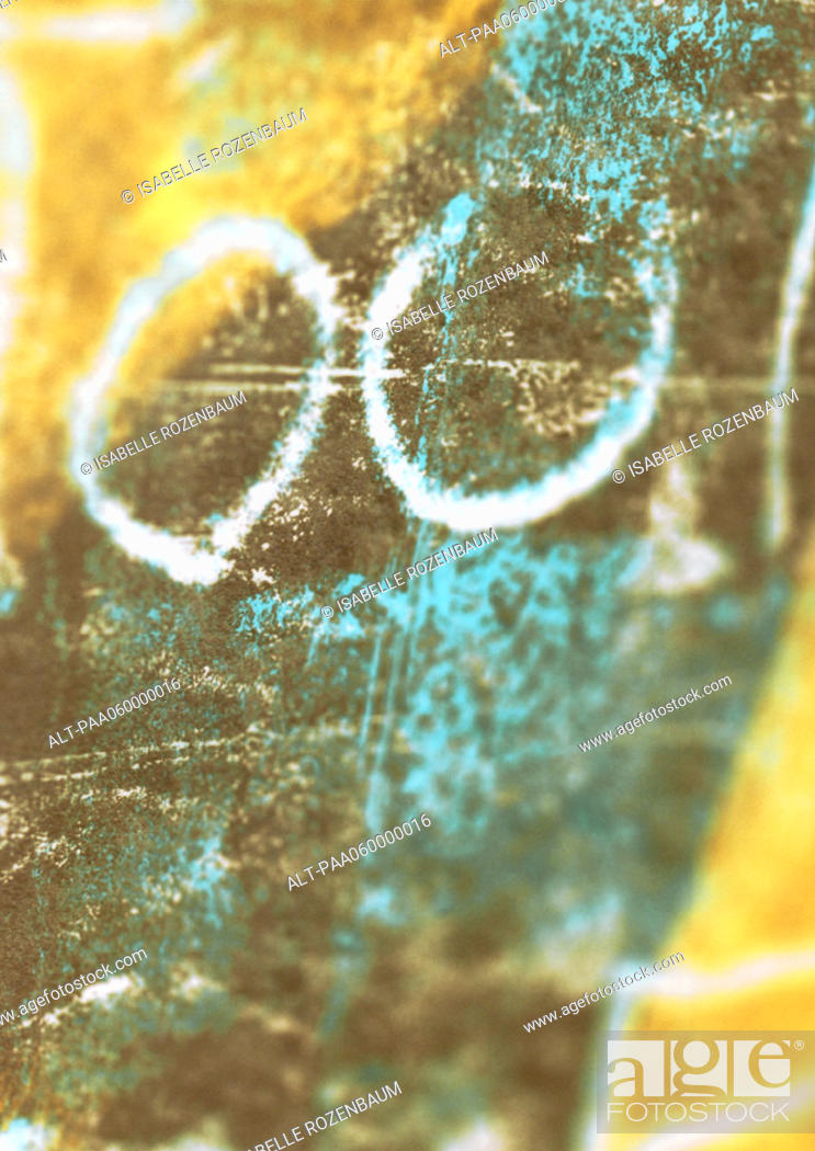 Stock Photo: '00' text, close-up.