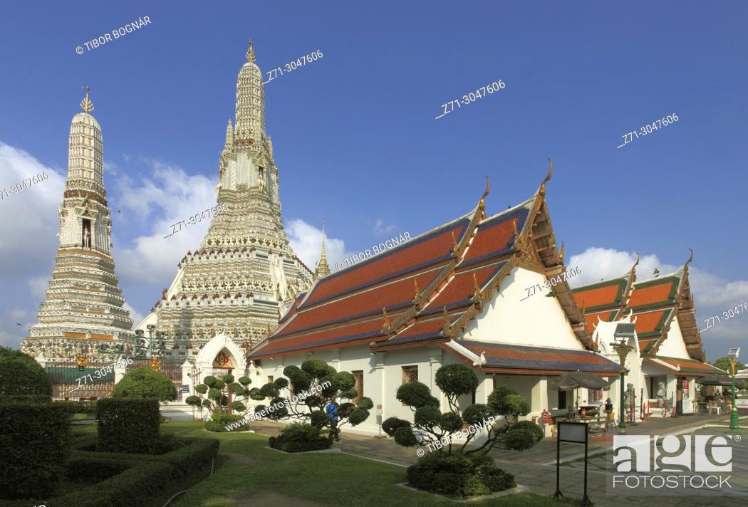 Photo de stock: Thailand, Bangkok, Wat Arun, Temple of Dawn,.