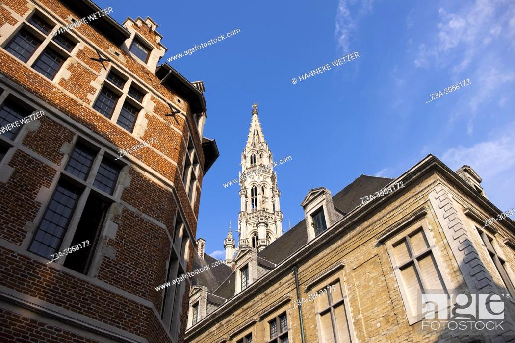 Stock Photo: Grand Place, Brussels, Belgium, Europe.