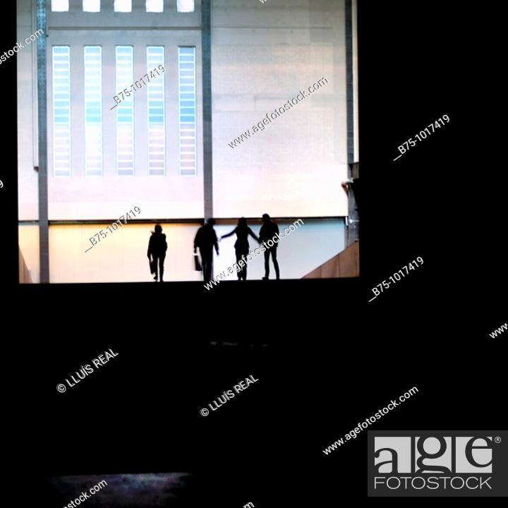 Stock Photo: Silhouettes.