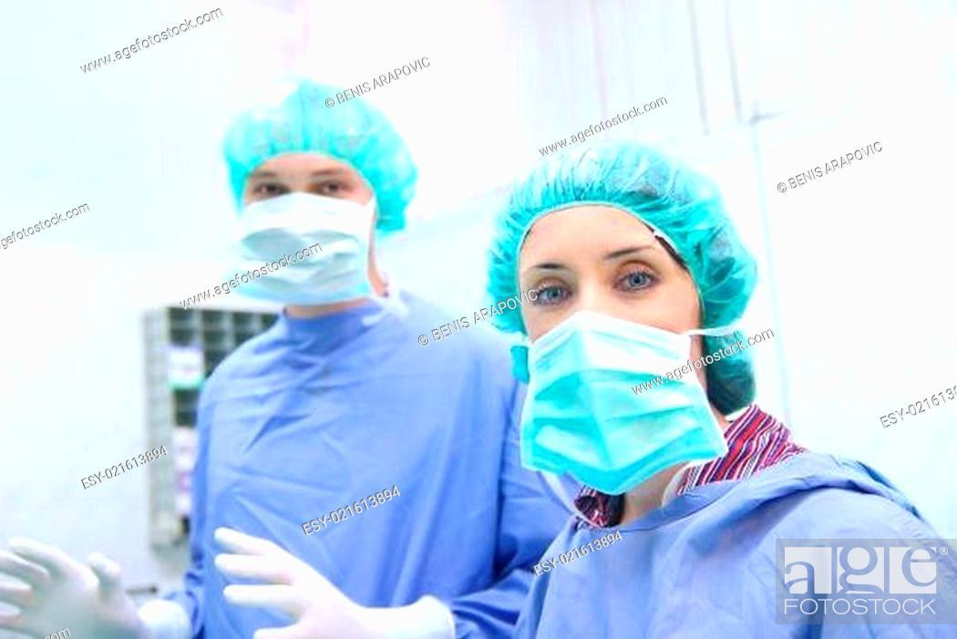 Stock Photo: doctor team.