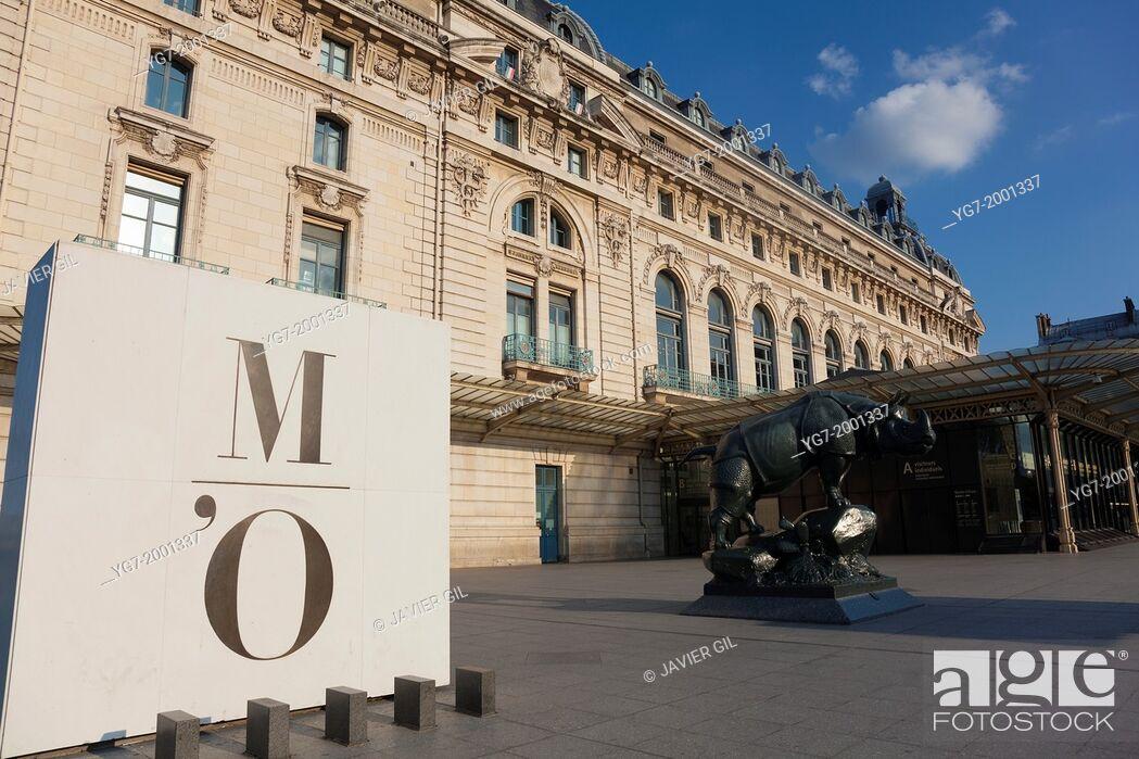 Stock Photo: Orsay Museum, Paris, Ile de France, France.