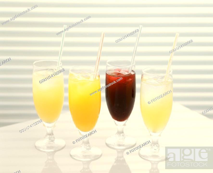 Stock Photo: Juice.