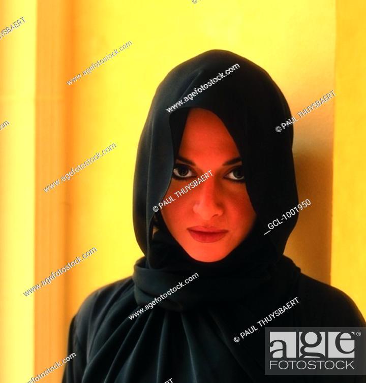 Stock Photo: Portrait of an Arab woman.