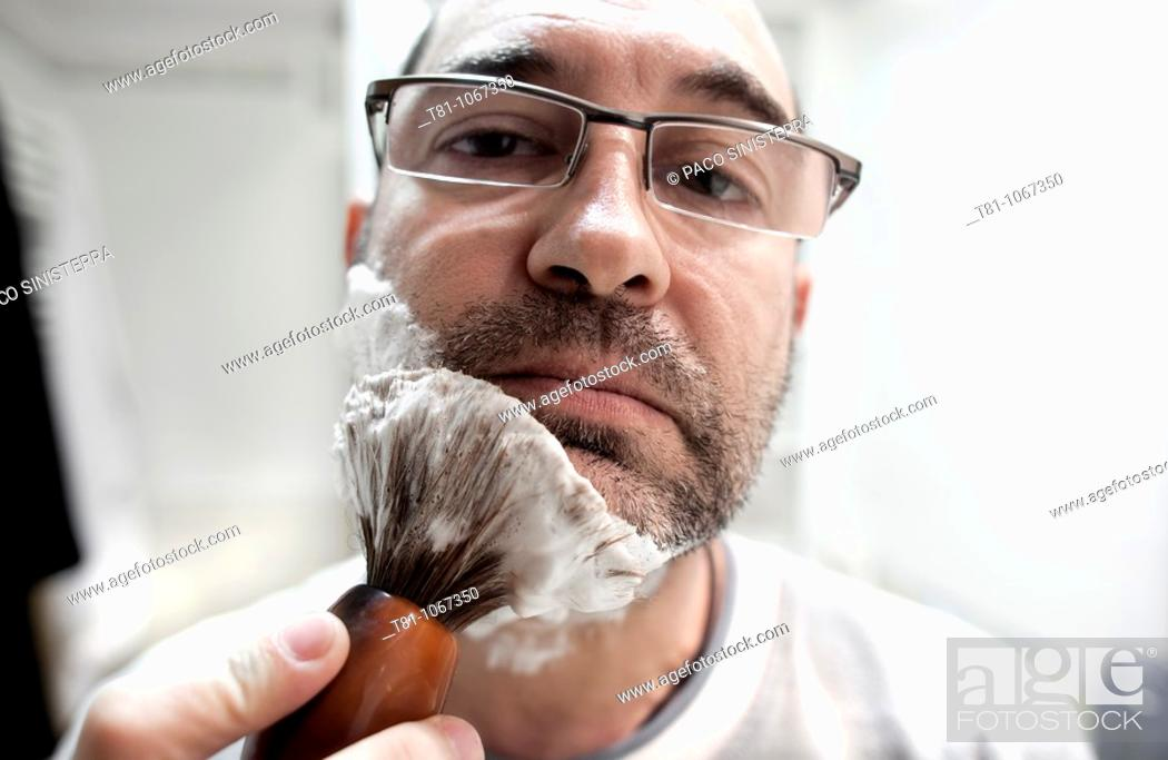 Stock Photo: shave.