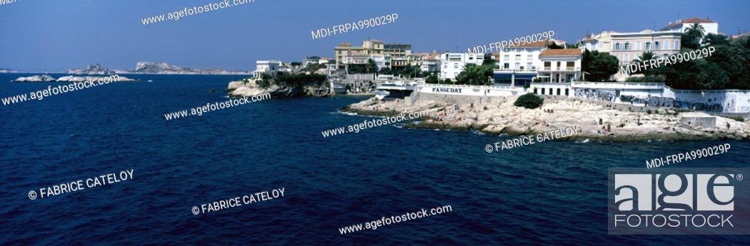 Marseille Prado Beach From The Corniche To The Beach