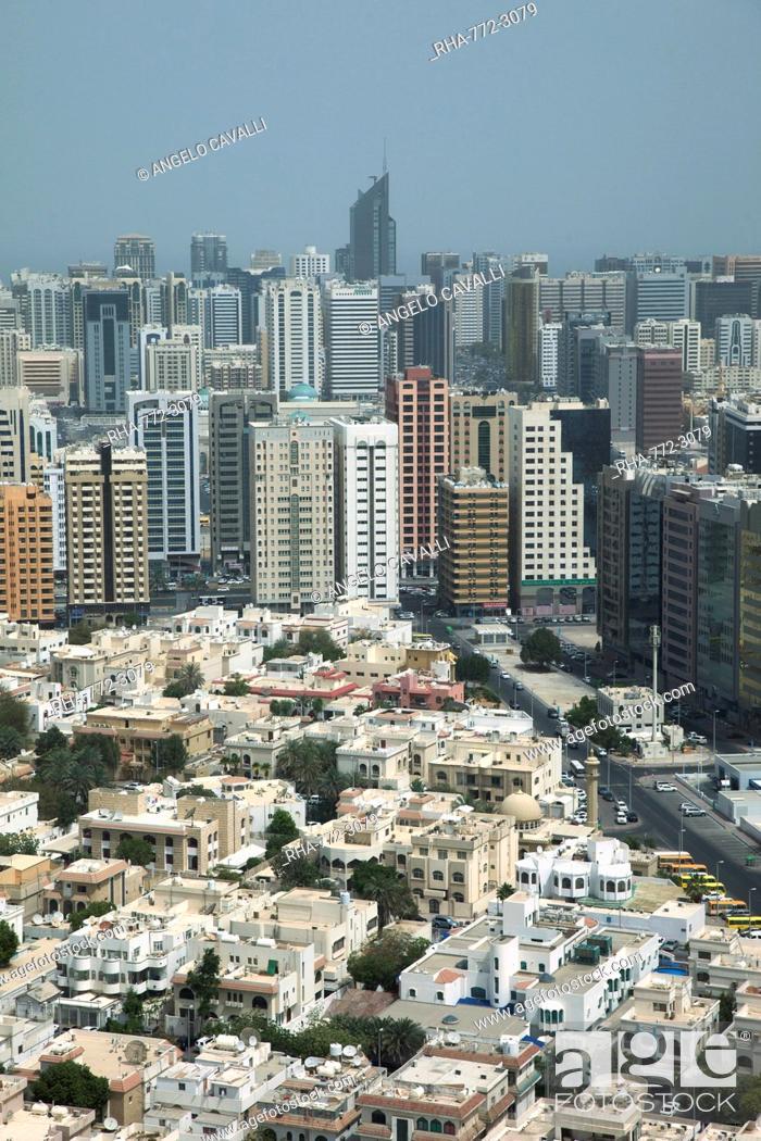 Stock Photo: Abu Dhabi, United Arab Emirates, Middle East.