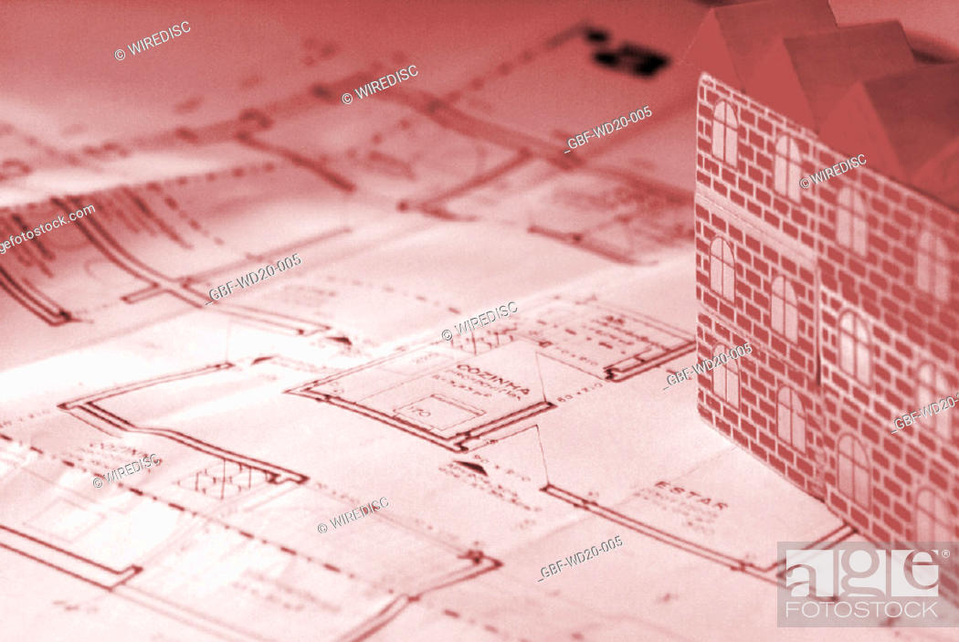 Stock Photo: Architecture, model, building, Brazil.