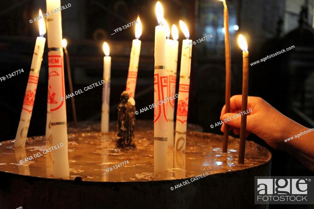 Stock Photo: Church of the Nativity Bethlehem Israel.