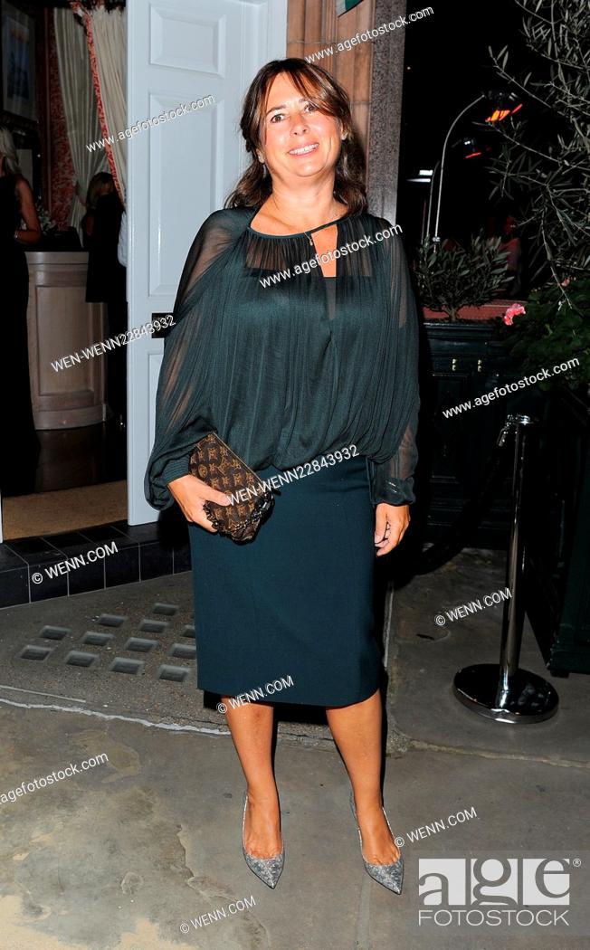 Stock Photo - Amanda Wakeley 25th Anniversary Party at Harry s Bar - Arrivals  Featuring  Alexandra Shulman Where  London 9814c9cbb