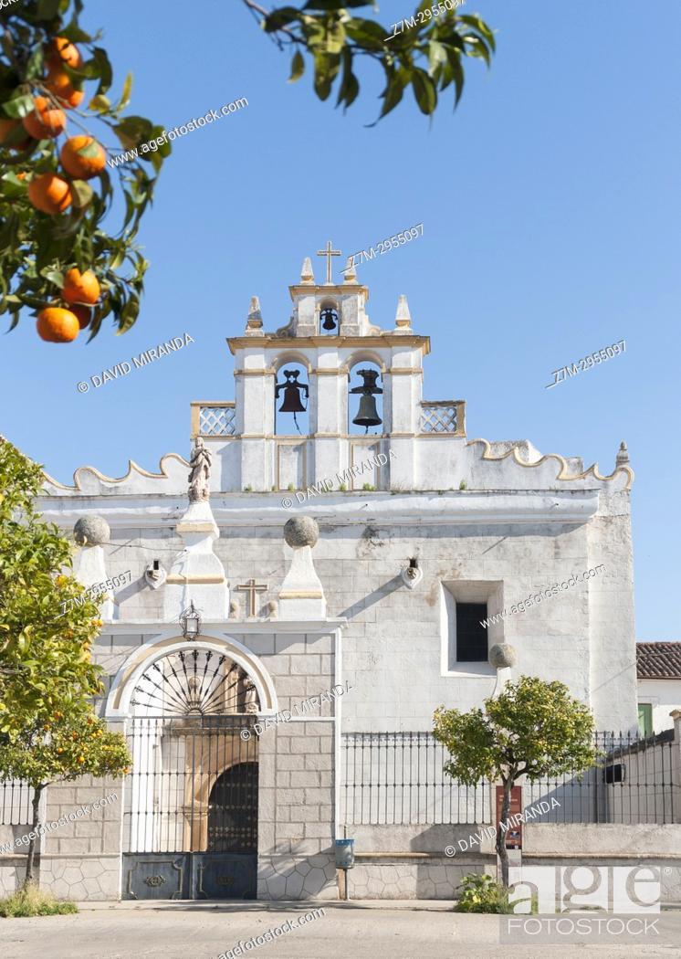 Stock Photo: Iglesia de San Francisco. Alburquerque. Badajoz. Extremadura. Spain.