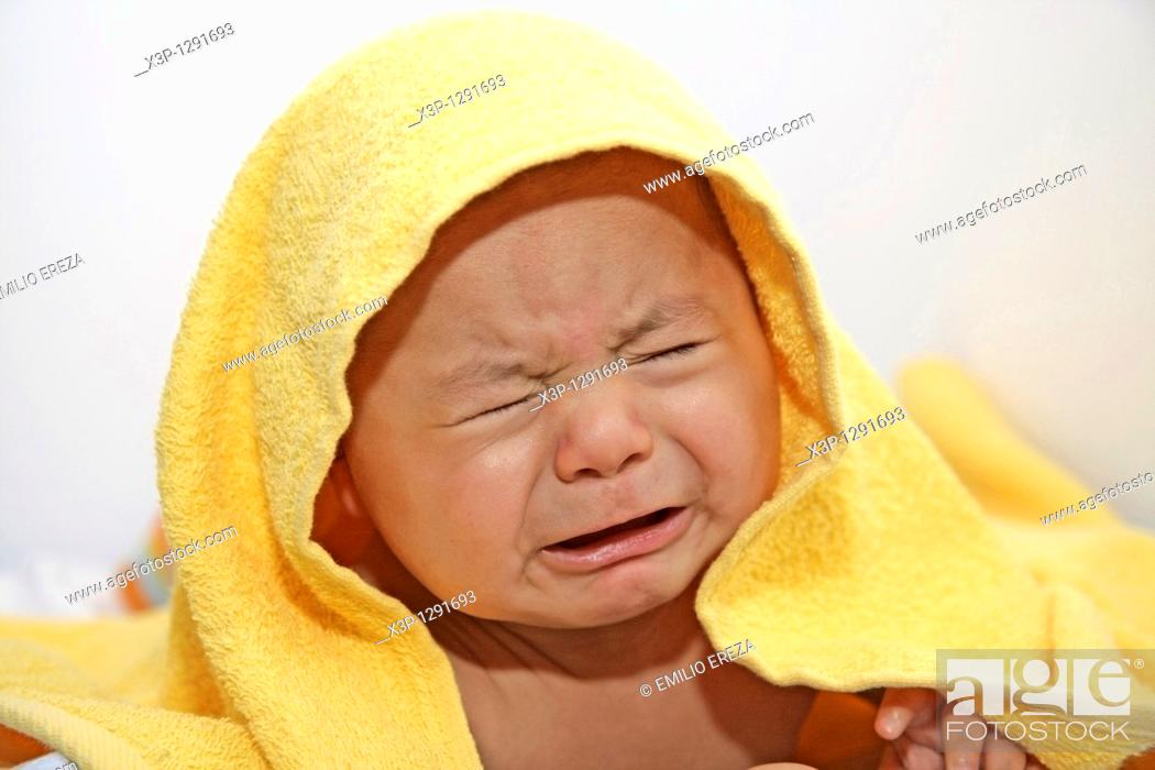 Stock Photo: Baby, 4 months.
