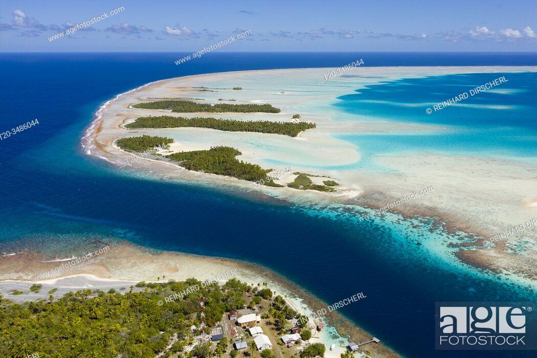 Imagen: Tetamanu Pass of Fakarava Atoll, Tuamotu Archipel, French Polynesia.