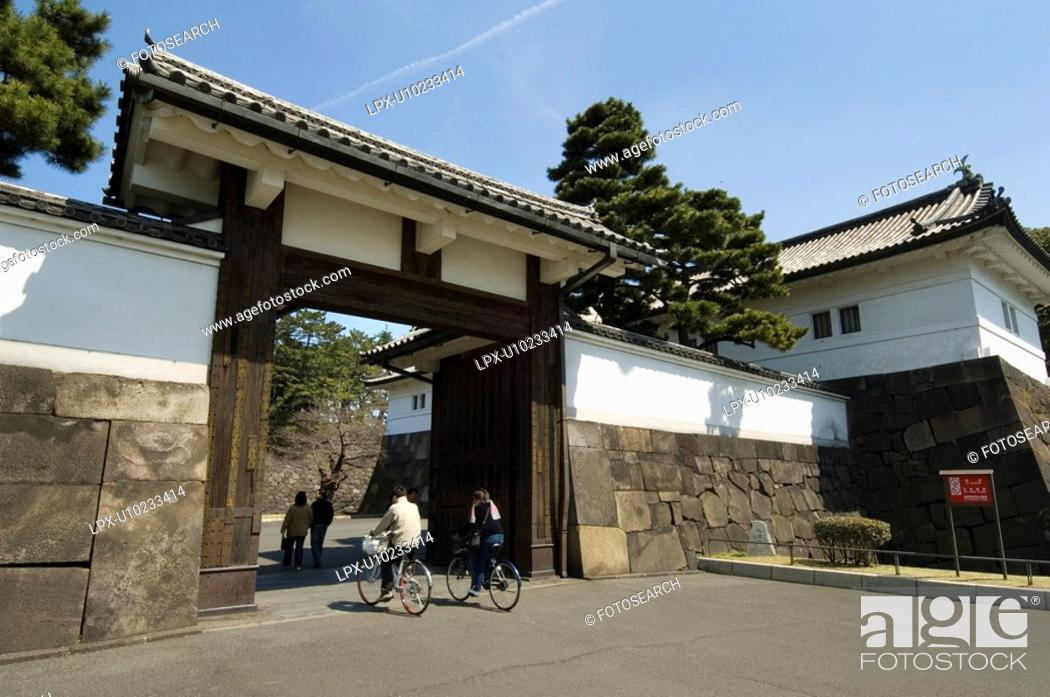 Stock Photo: Sakurada-mon.