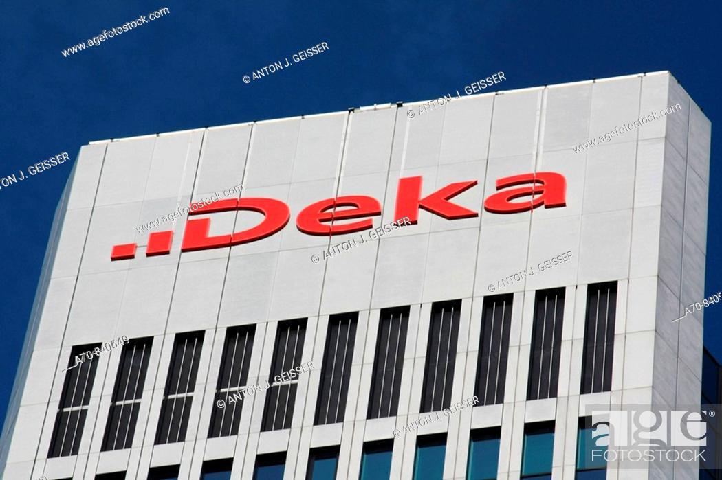 Stock Photo: Deka Bank, Frankfurt am Main, Germany.