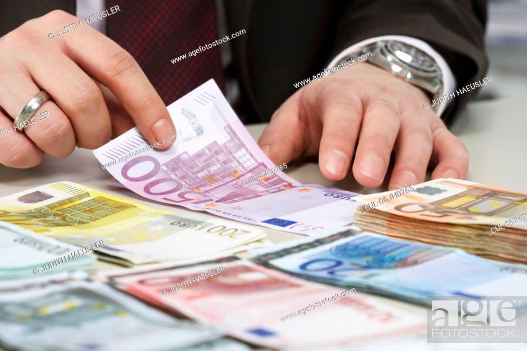 Stock Photo: Bank notes.