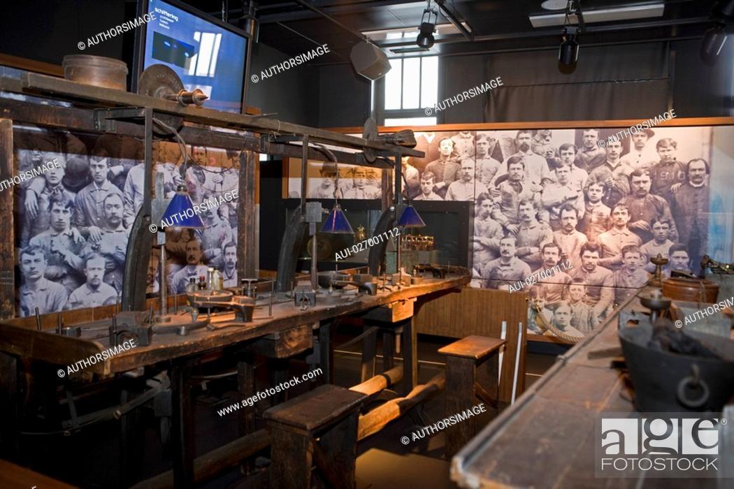 Stock Photo: Belgium - Flanders - Antwerp - Diamond Museum.