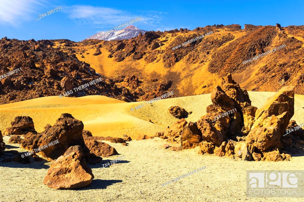 Imagen: Teide National Park, Pumice stone field, Tenerife, Canary Islands, Spain.