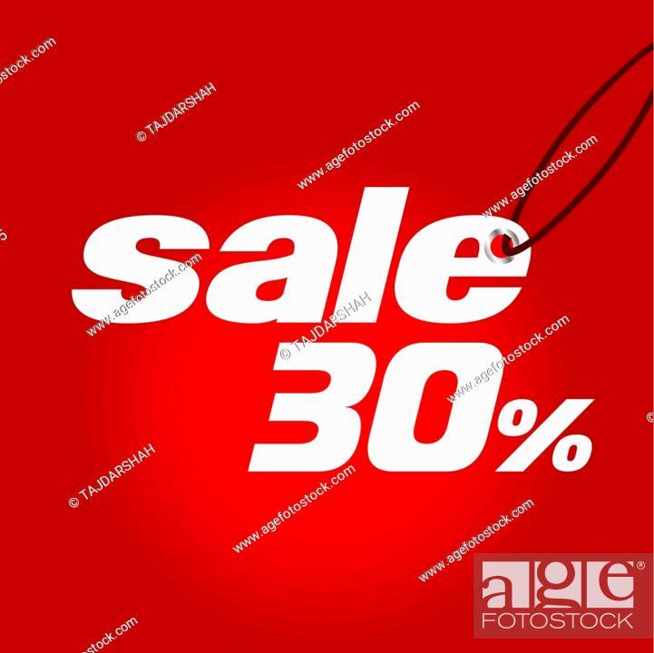 Stock Vector: Sale.